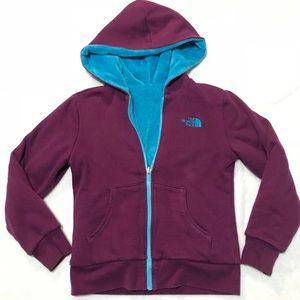 The North Face cozy Jacket blue purple L 10 / 12 M